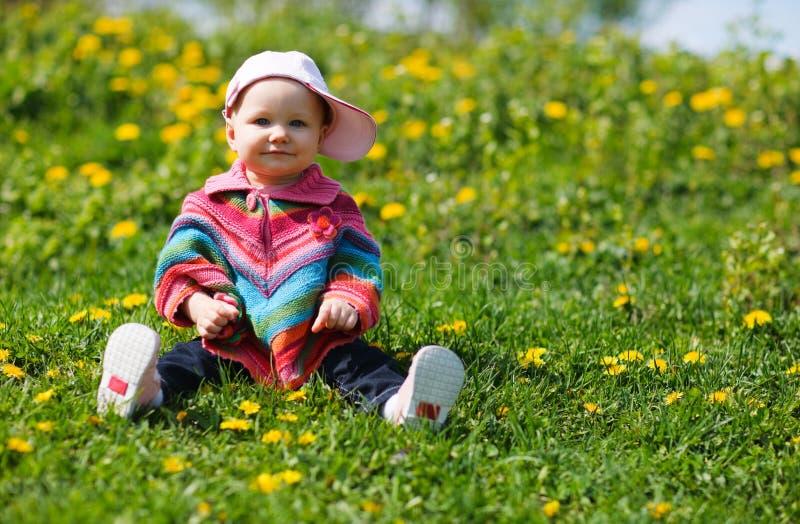 dziecko wiosna fotografia stock