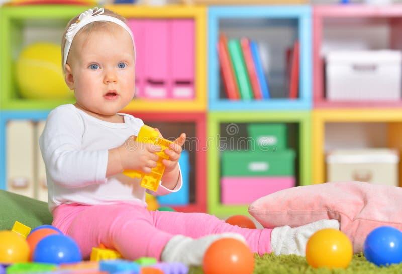 dziecko zabawki kolorowe małe bawić się zdjęcie stock