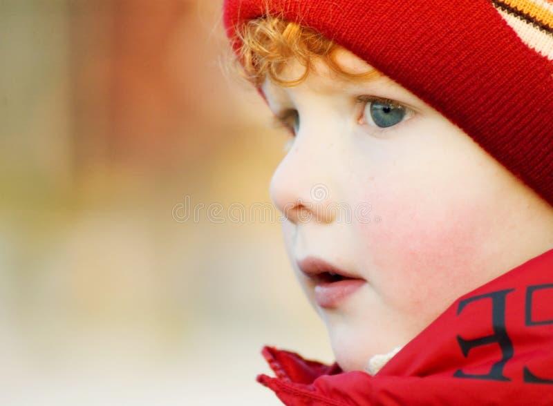 dziecko zima zdjęcie stock