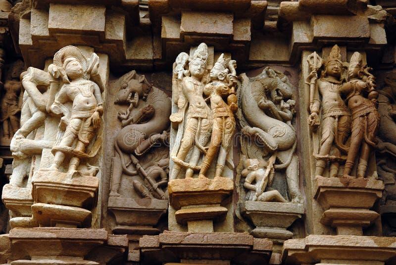dziedzictwa ind khajuraho miejsca świat zdjęcie stock