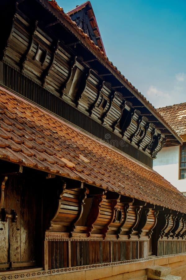 Dziedzictwo architektury pałac tamilnadu India obrazy royalty free