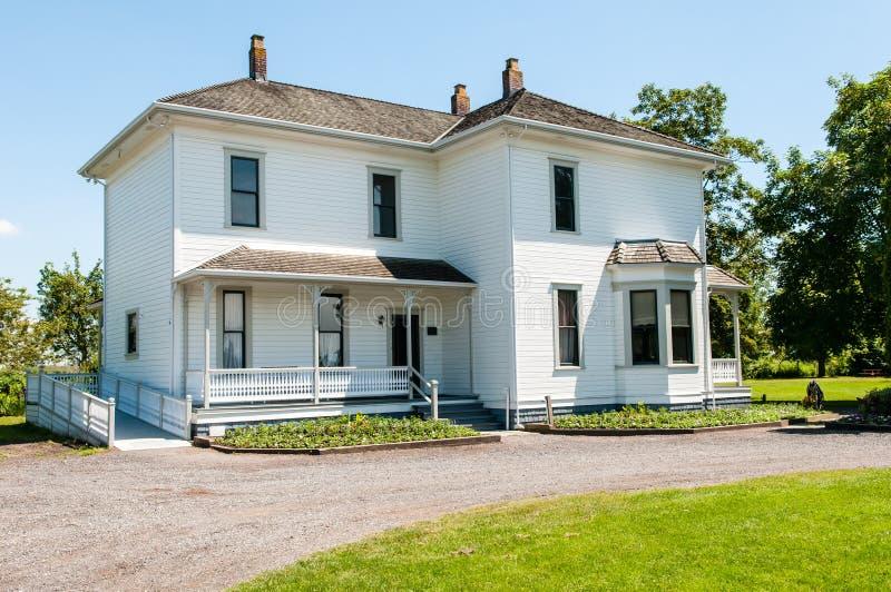 dziedzictwo rolny dom zdjęcia royalty free
