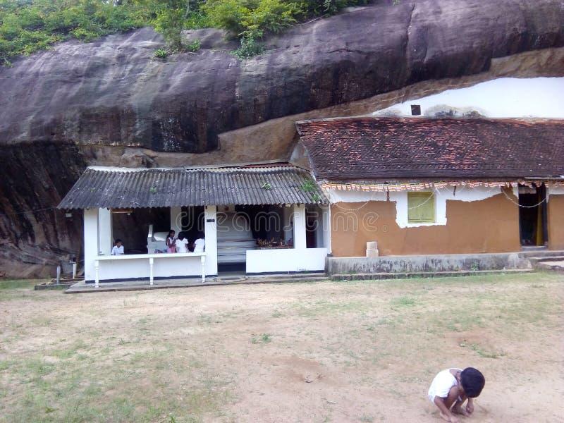 Dziedzictwo Sri Lanka, Buddyjska kultura zdjęcia royalty free