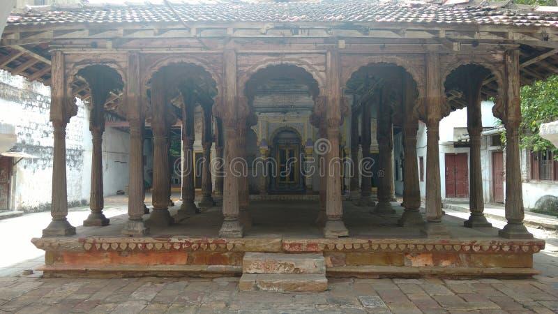 Dziedzictwo zabytku świątynia zdjęcia royalty free