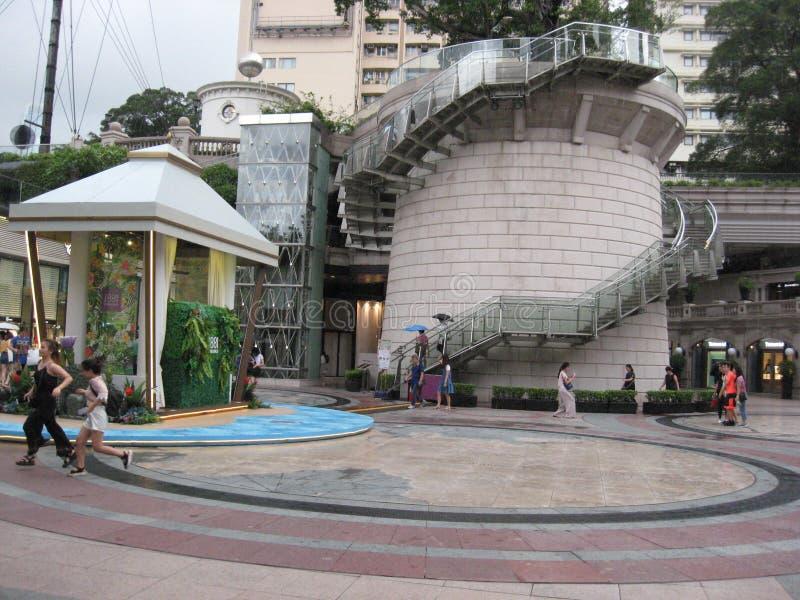 1881 dziedzictwo zakupy arkada, Tsim Sha Tsui, Hong Kong obrazy royalty free