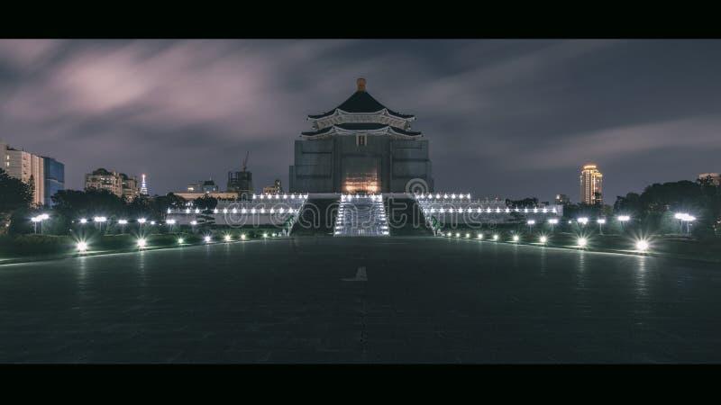 Dziejowa Chiang Kai-shek Memorial Hall zdjęcia stock