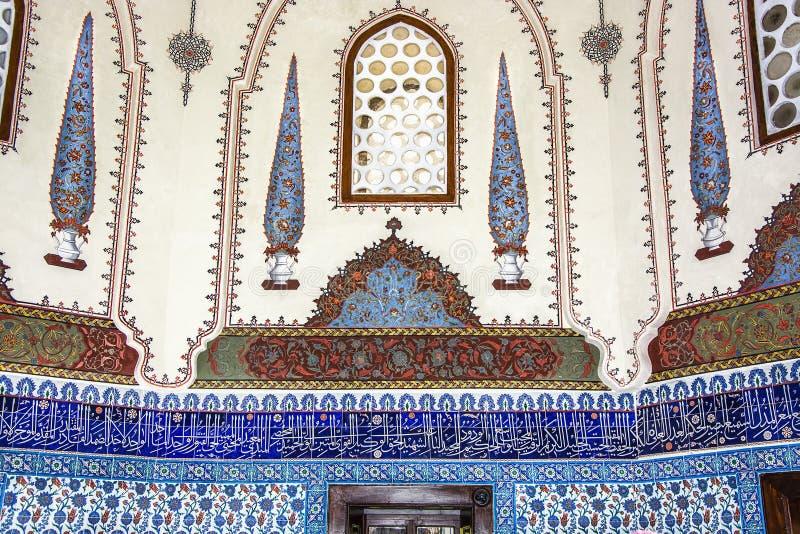 Dziejowa islamska dekoracja, motyw zdjęcia stock