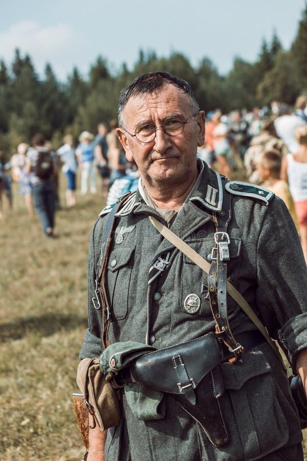Dziejowa odbudowy drugi wojna światowa fotografia stock