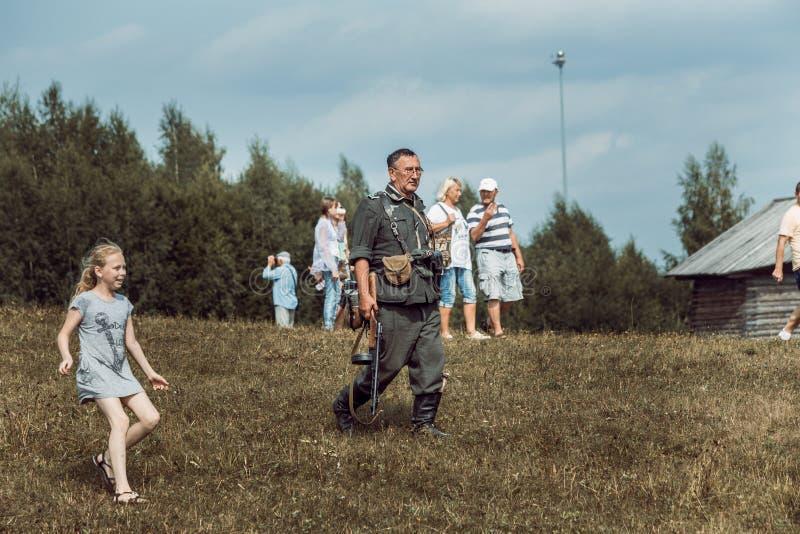 Dziejowa odbudowy drugi wojna światowa zdjęcie royalty free