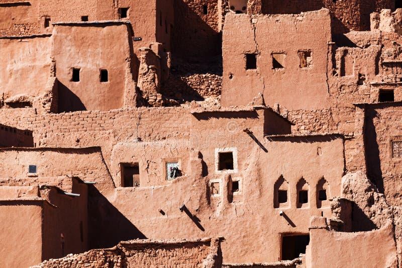 Dziejowa wioska Ben w Maroko obrazy royalty free