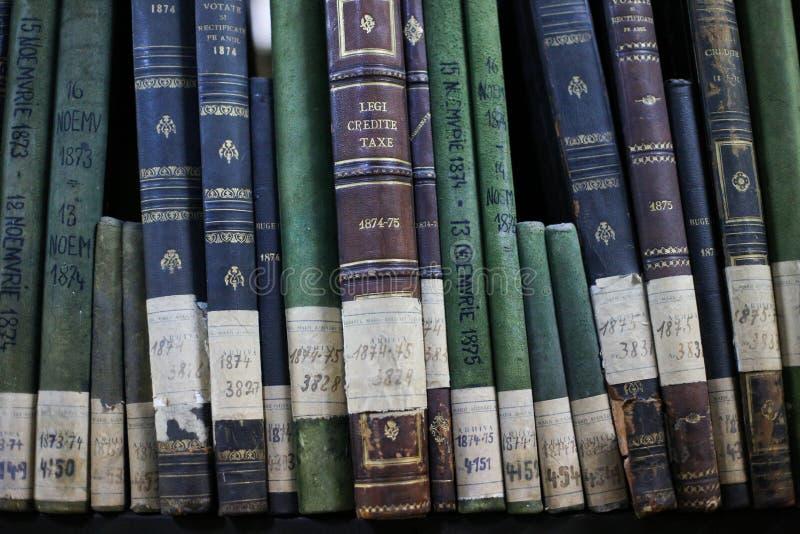 Dziejowi archiwa brogujący w depozycie obrazy royalty free