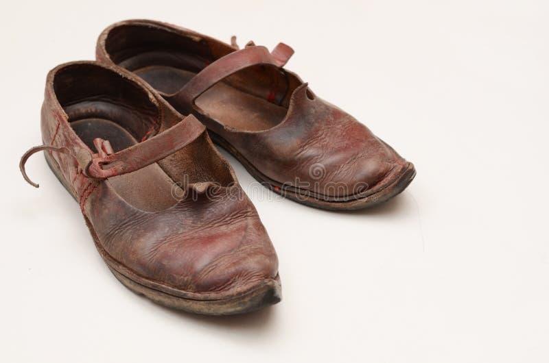 Dziejowi buty zdjęcie royalty free