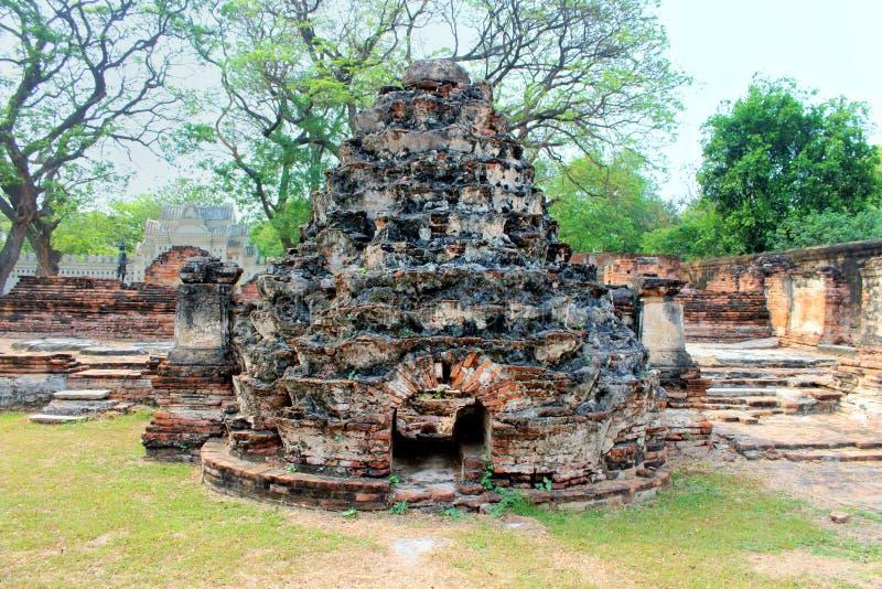 Dziejowi miejsca Dzisiaj są dziejowe atrakcje turystyczne Tajlandia obraz stock