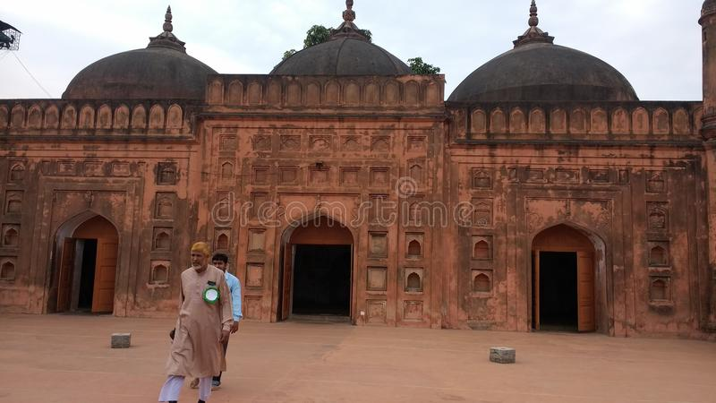 Dziejowy budynek, tohakhan obraz royalty free