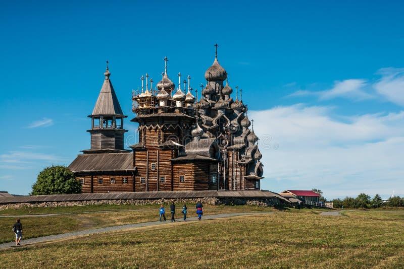 Dziejowy i Architektoniczny muzeum w Kizhi, Karelia obraz stock