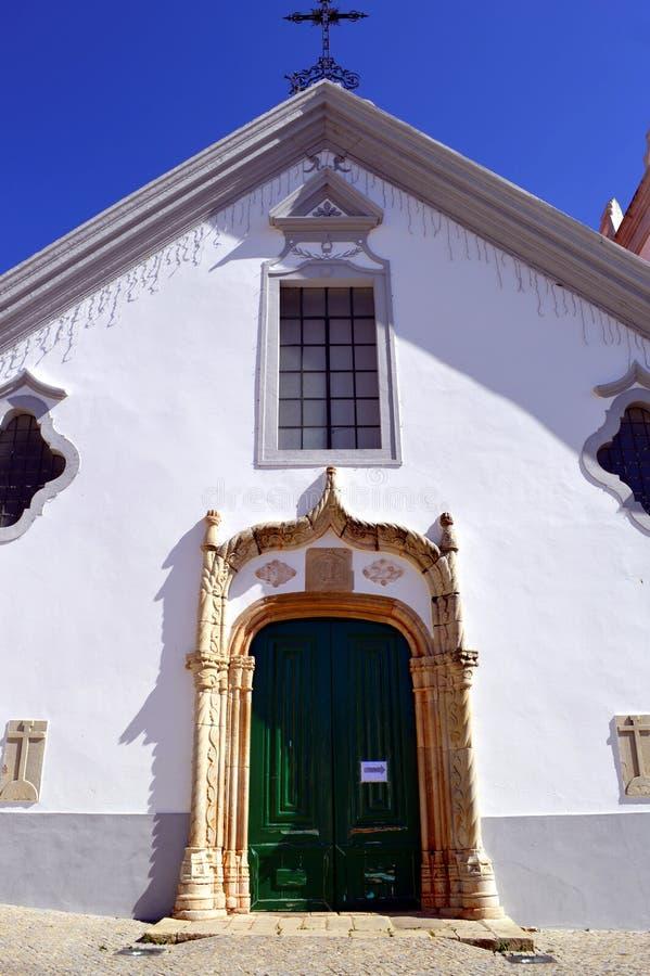 Dziejowy kościół Nasz dama wniebowzięcie w Alte fotografia royalty free