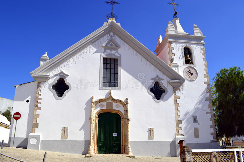 Dziejowy kościół Nasz dama wniebowzięcie w Alte zdjęcie stock