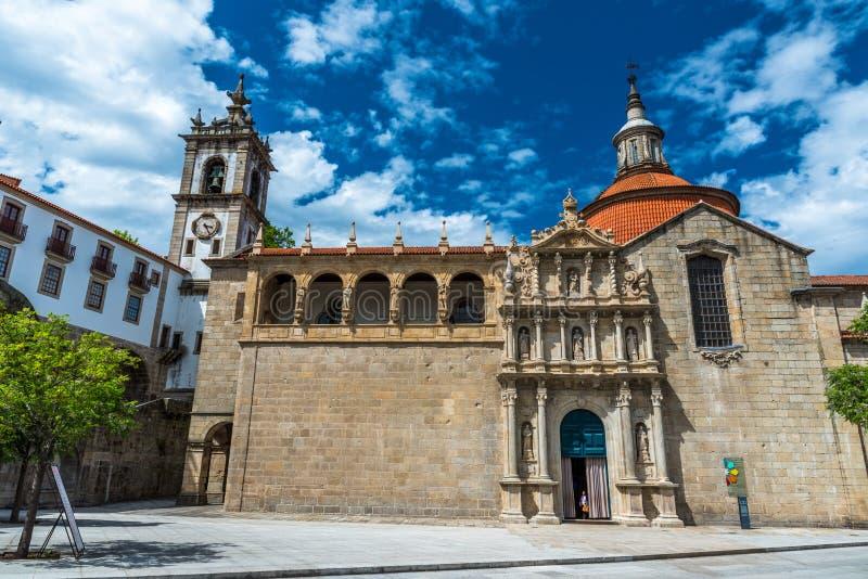 Dziejowy miasto Amarante w Portugalia fotografia stock