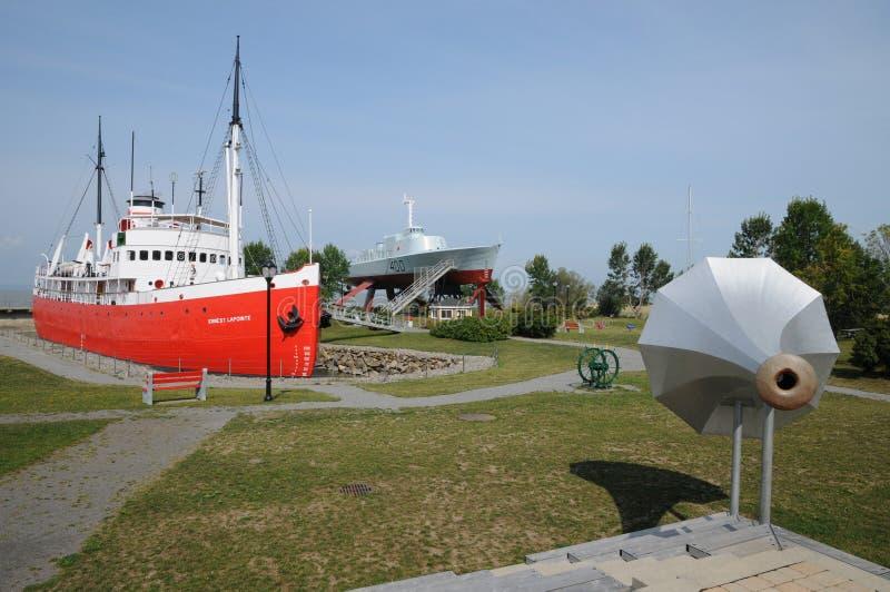 Dziejowy morski muzeum L wysepki sura mer zdjęcia stock
