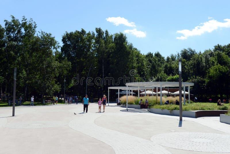 Download Dziejowy Parkowy ` Kuzminki-Lublino ` Obraz Editorial - Obraz złożonej z naturalny, kapitał: 106913205