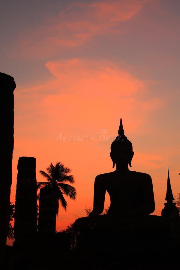 dziejowy parkowy sukhothai Thailand fotografia royalty free