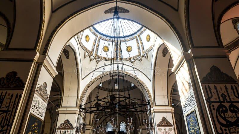Dziejowy Uroczysty meczet w Bursa Osmangazi obraz stock
