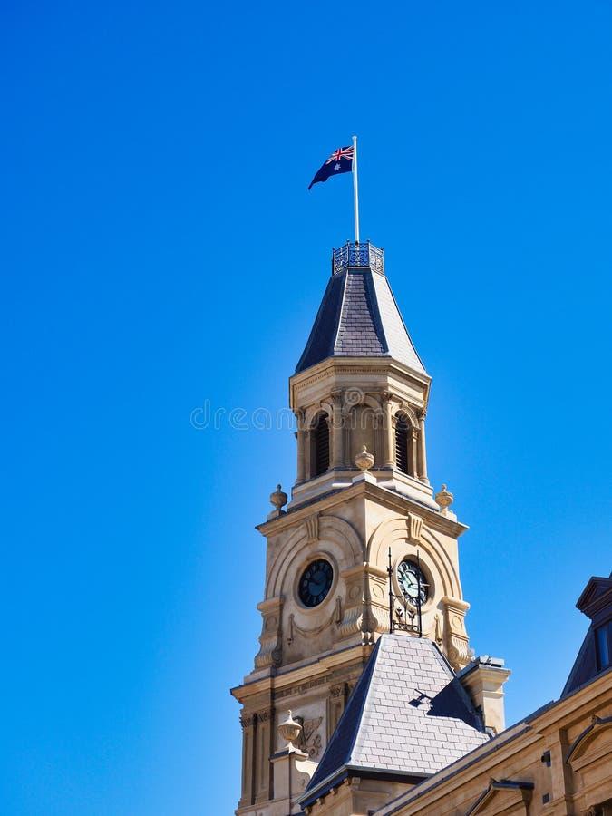 Dziejowy xix wiek kościół, Fremantle, zachodnia australia obrazy royalty free