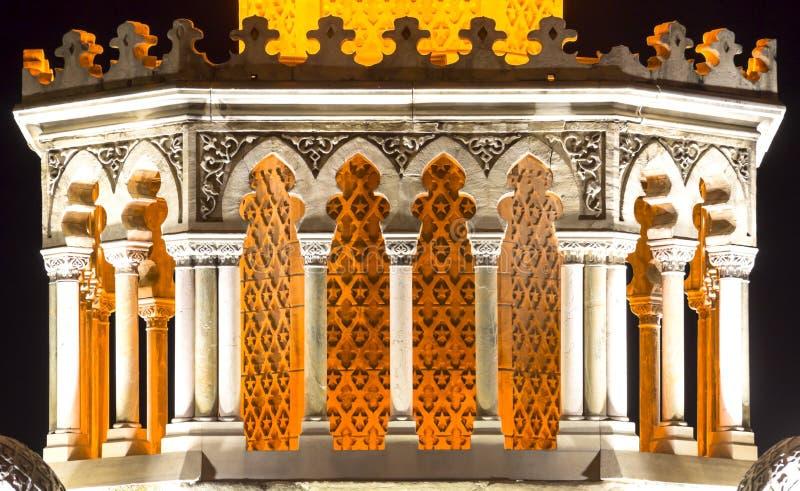 Dziejowy Zegarowy wierza Izmir obraz stock