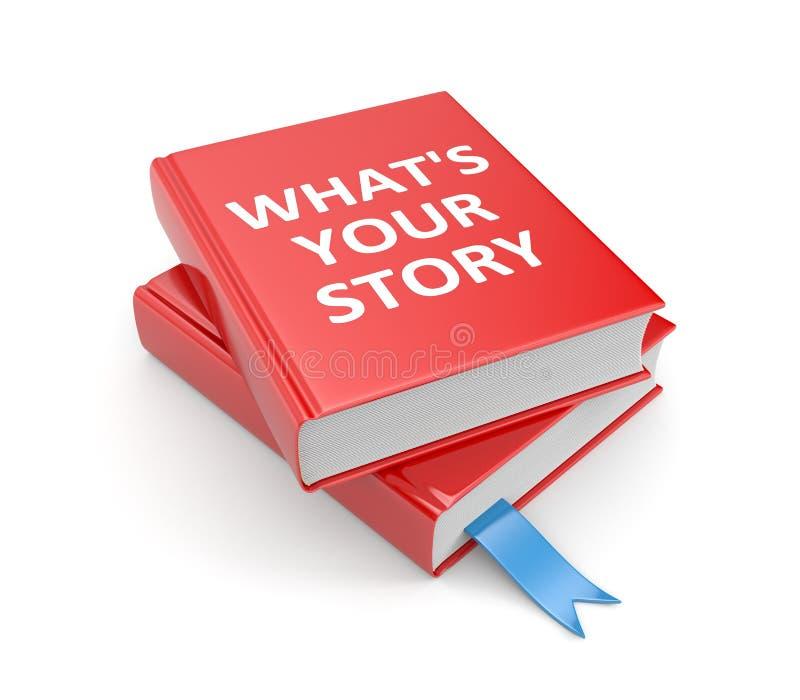 Dzieli twój opowieść royalty ilustracja