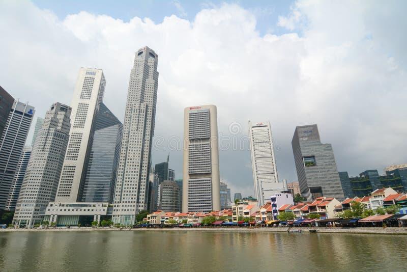Download Dzielnica biznesu Singapur obraz editorial. Obraz złożonej z centrala - 57653100
