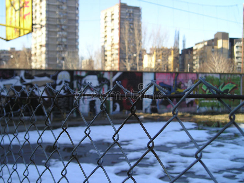 dzielnica gangsta obraz stock