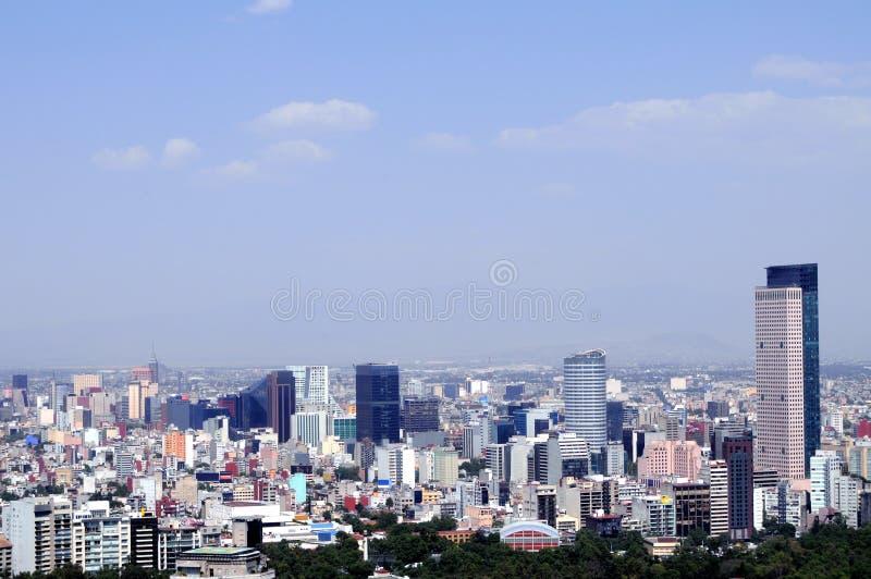 dzielnica miasta pieniężny Mexico fotografia royalty free