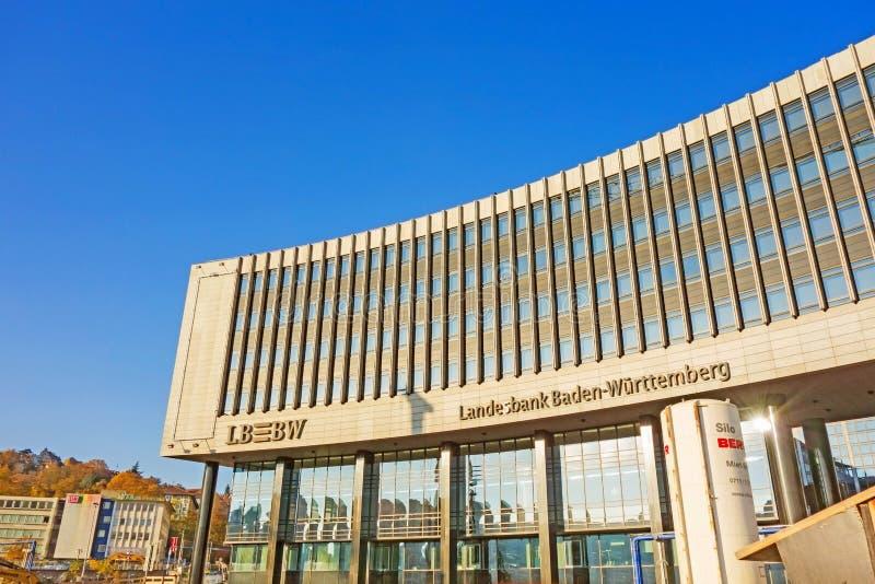 Dzielnicowy bank państwowy Baden-Wurttemberg, Stuttgart obraz royalty free