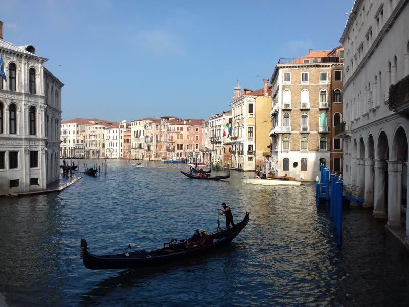 Dzienna rutyna w Wenecja zdjęcia royalty free