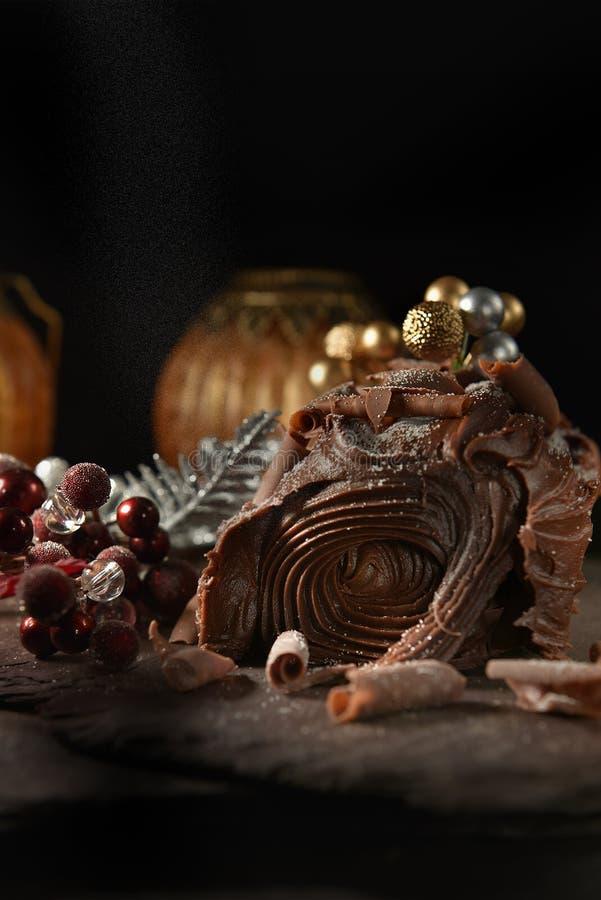 Dziennik czekolady Yule II zdjęcie stock