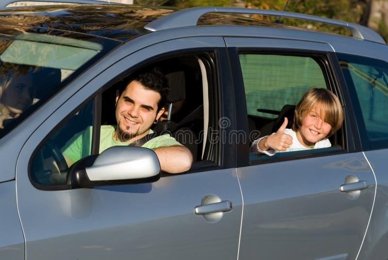 dzierżawienie samochodowy rodzinny wynajem obrazy royalty free