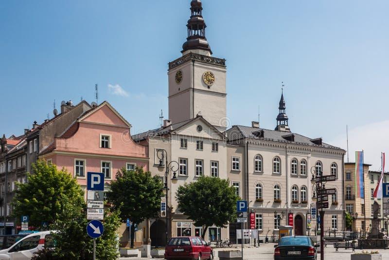 Download Dzierzoniow - Miasto W Południowo-zachodni Polska Obraz Editorial - Obraz złożonej z polska, zatrzymuje: 57650005