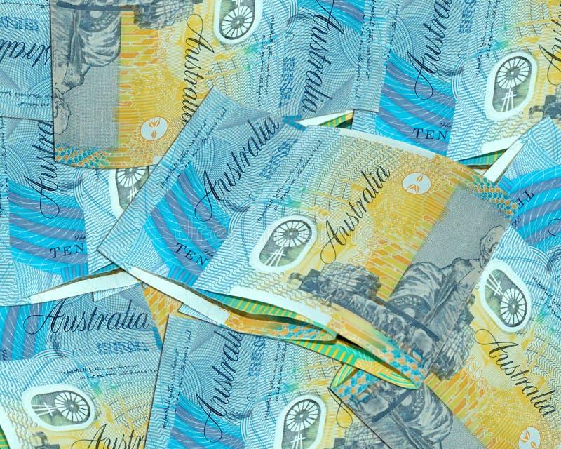 Dziesięć Dolarów Australijskich Fotografia Royalty Free
