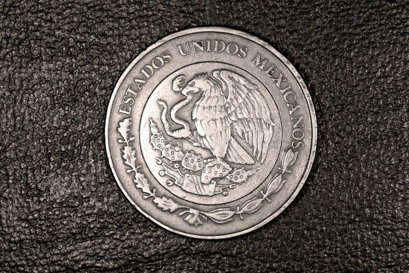 Dziesięć meksykańskiego peso moneta obraz royalty free