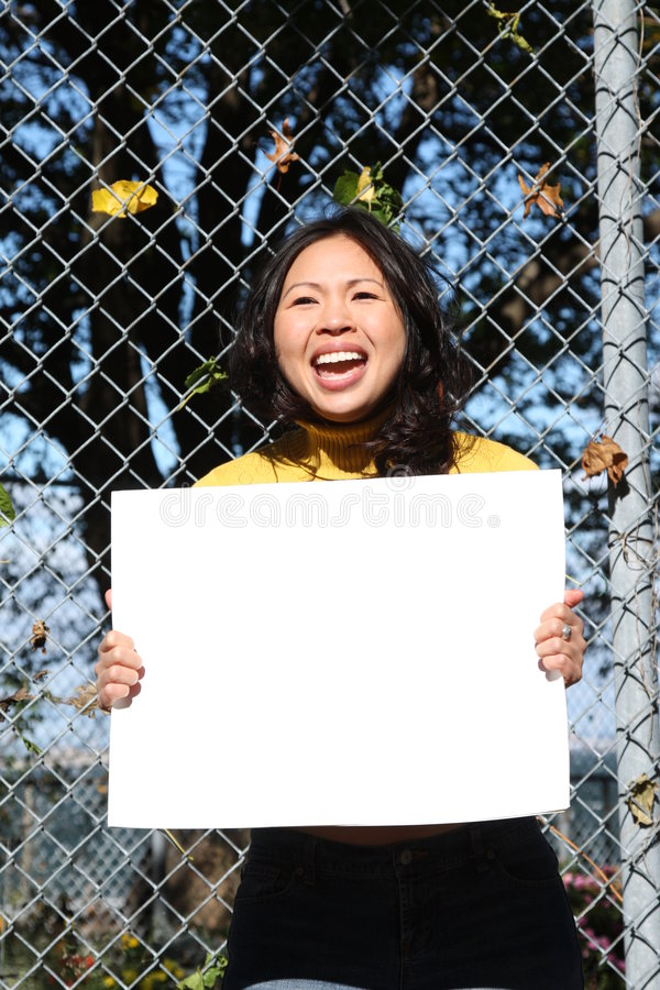 dziewczyn azjatykci potomstwa fotografia stock