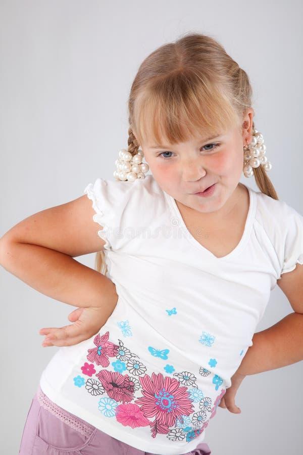 dziewczyn potomstwa zdjęcie stock