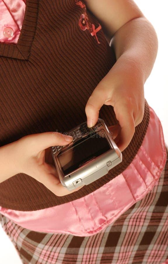 Download Dziewczyn potomstwa zdjęcie stock. Obraz złożonej z technologia - 13328192