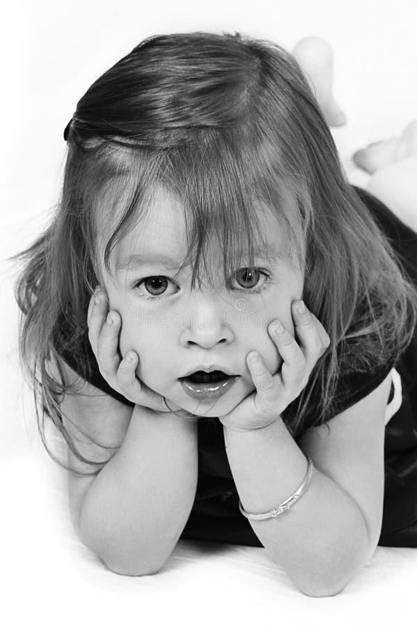 dziewczyn potomstwa fotografia royalty free