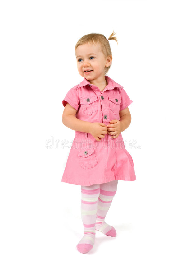 dziewczyn potomstwa szczęśliwi trwanie obraz royalty free