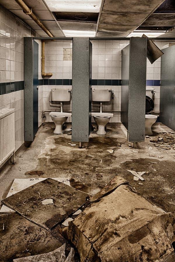Dziewczyn toalety zdjęcie stock