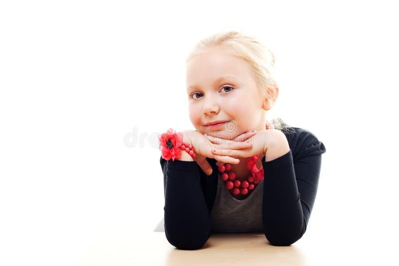 dziewczyna śliczny portret zdjęcia royalty free