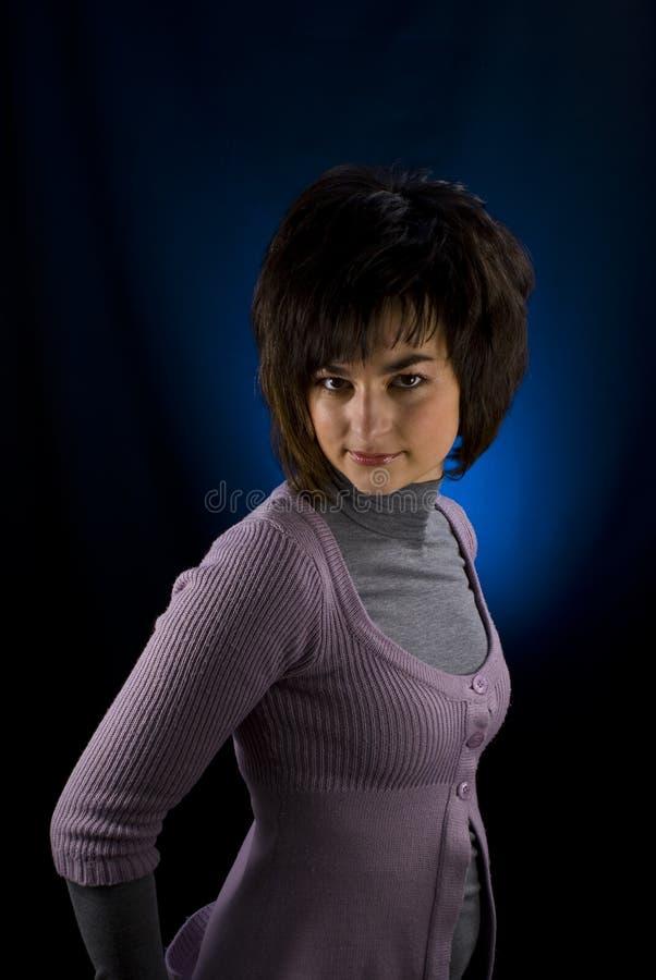 Download Dziewczyna zdjęcie stock. Obraz złożonej z długi, joyce - 13342652