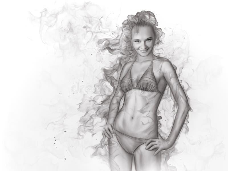 dziewczyna ilustracji