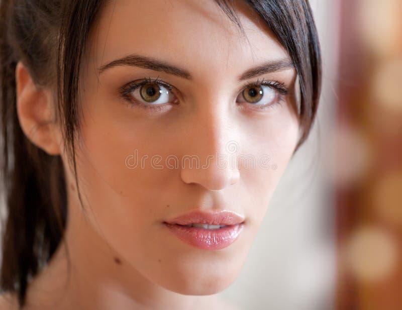 dziewczyna atrakcyjny portret zdjęcie stock