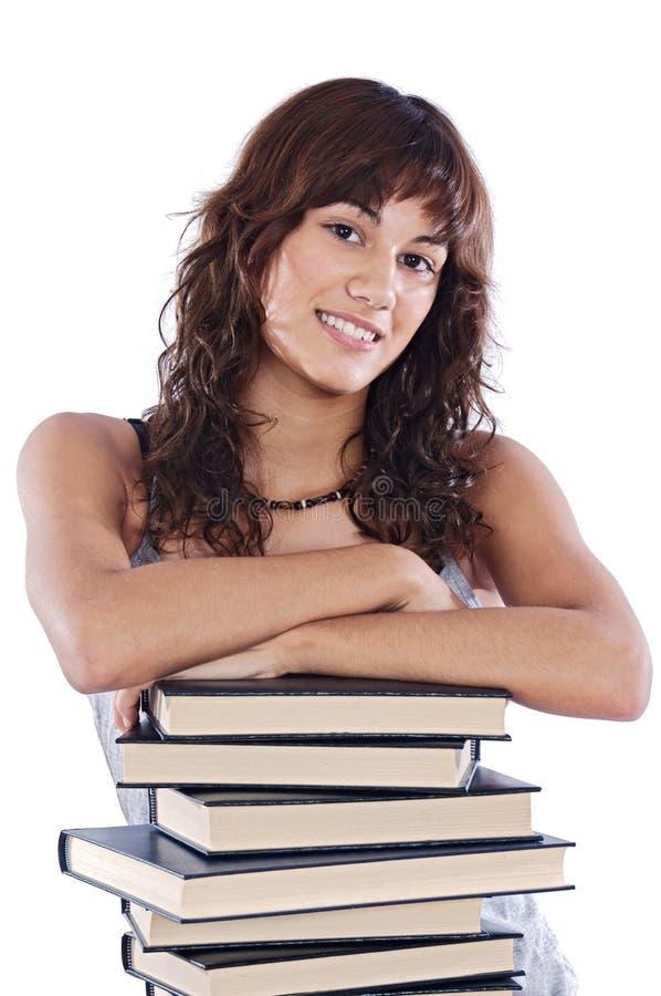 dziewczyna atrakcyjny uczeń fotografia stock